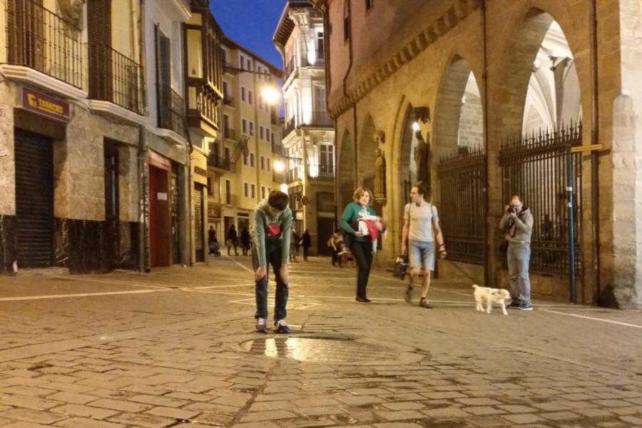 Pozo de San Cernín, en Pamplona