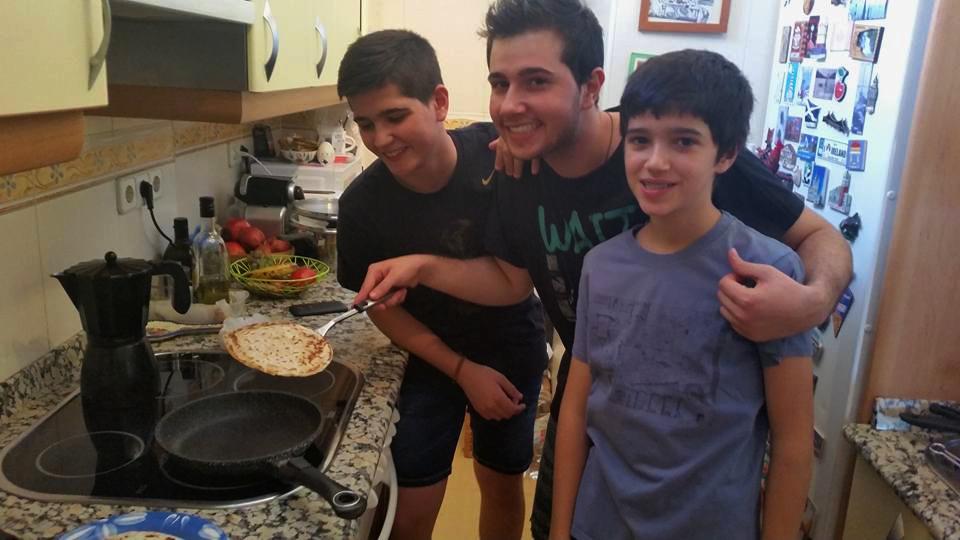 Montar un taller de cocina en casa es divertido para toda la familia