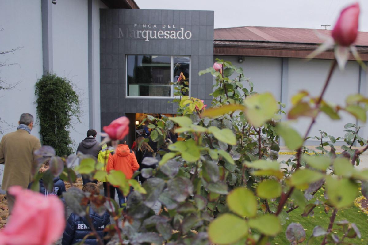 Instalaciones de las Bodegas Valdemar, en La Rioja Alavesa
