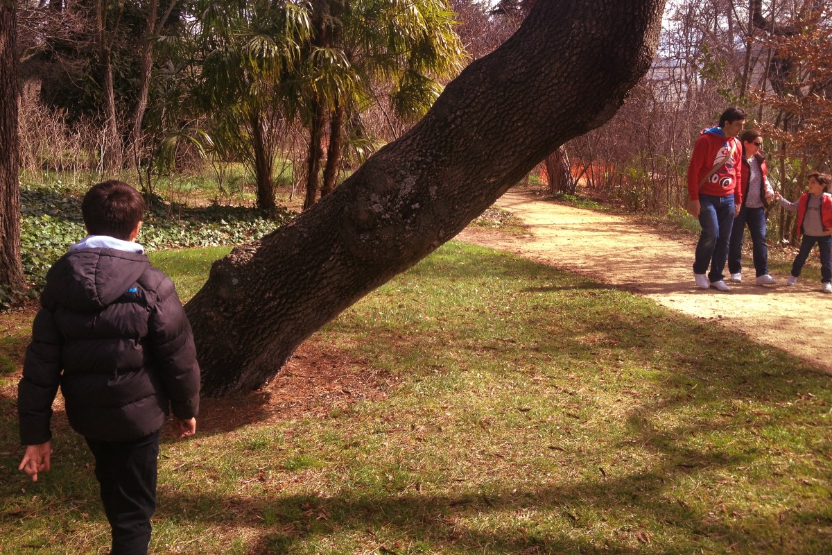Parques urbanos para visitar con peques