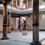 Sala central del Museo Pablo Gargallo de Zaragoza