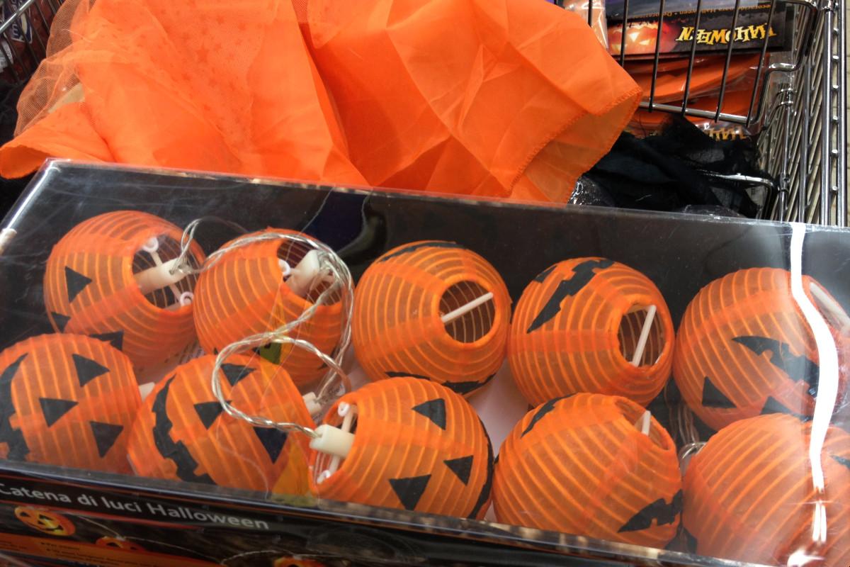 Adornos de Halloween en tiendas Lidl