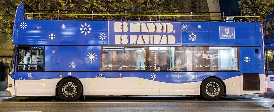 Autobús navideño Naviluz