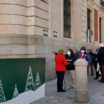 Belén de la Comunidad de Madrid, en Sol, 2020