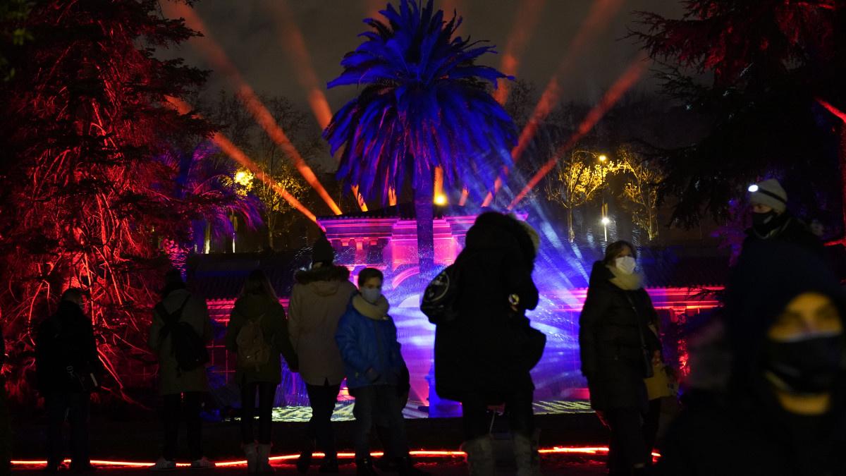 Espectáculo navideño en el Real Jardín Botánico, 2020