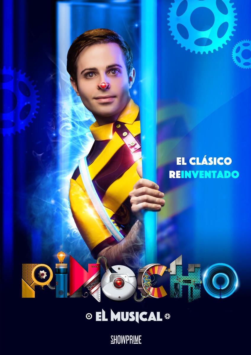 Cartel del musical 'Pinocho'