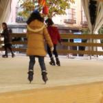 Pistas de hielo al aire libre en Navidad 2020 en Madrid