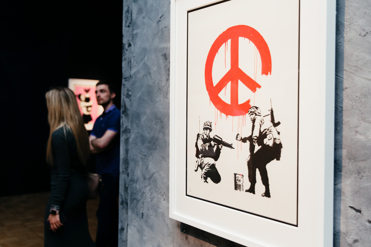 Exposición de Banksy en Madrid
