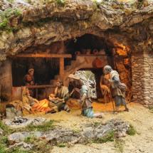 Adoración de los pastores del belén de San Isidro, 2020