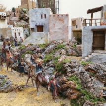 Llegada de los Reyes Magos del belén de San Isidro 2020
