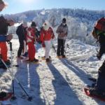 Ruta en raquetas de nieve: una experiencia familiar por   la Sierra de Guadarrama