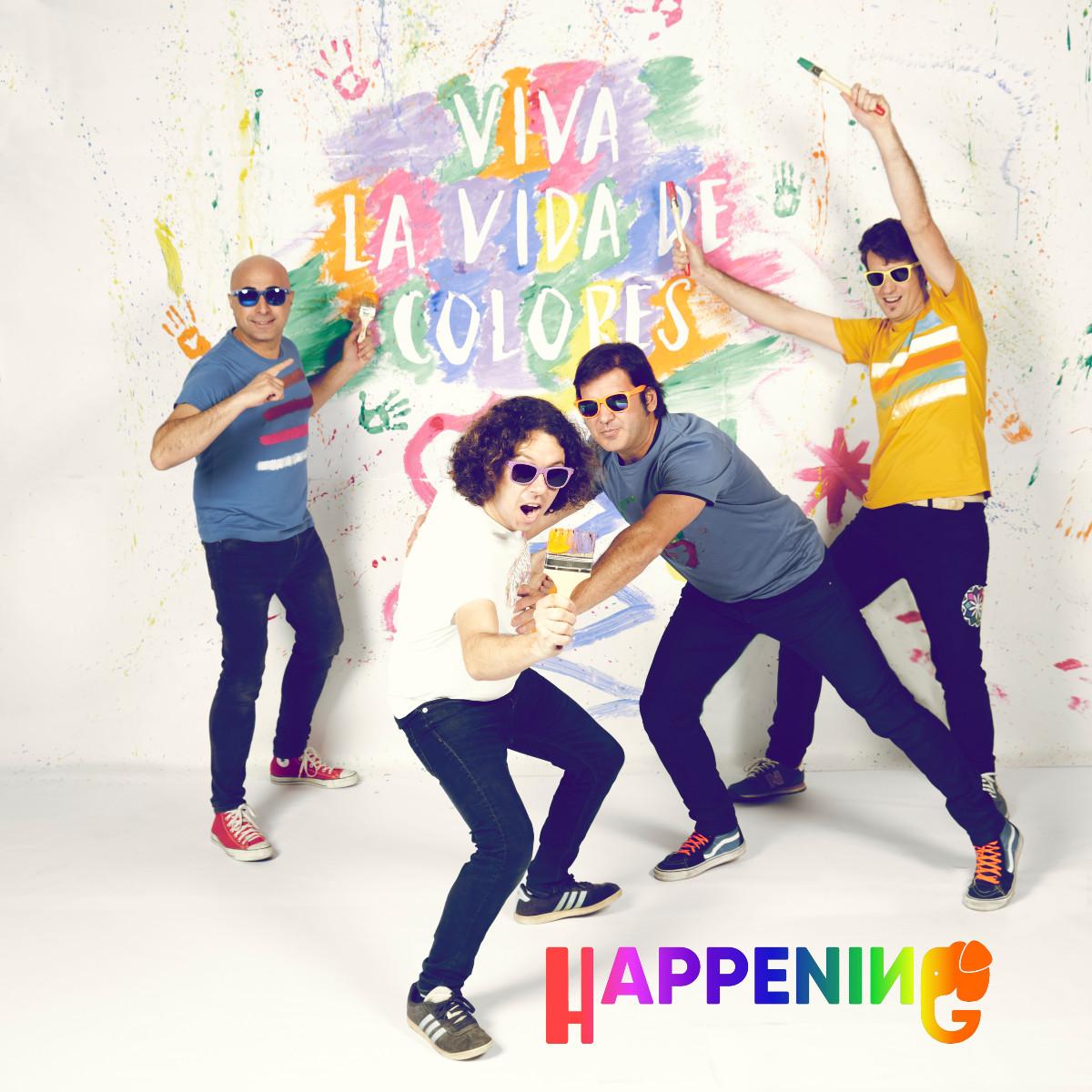 Happening - Viva la vida de colores, portada