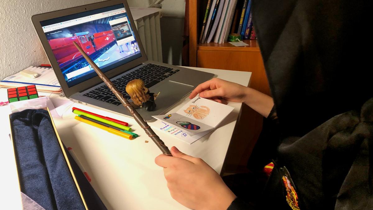 Letrimagia propone una interesante actividad online para peques aficionados a Harry Potter