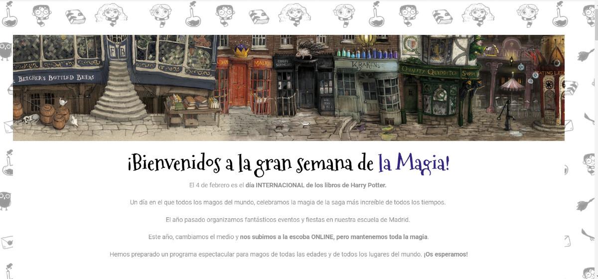 Letrimagia prepara la Semana de Harry Potter