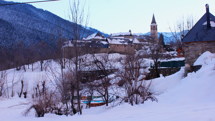 Vielha, capital del Valle de Arán