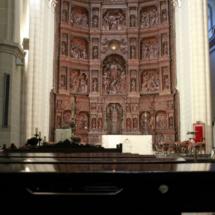 Retablo de la catedral de Teruel