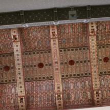 Detalle de la fachada y campanario de la catedral de Teruel