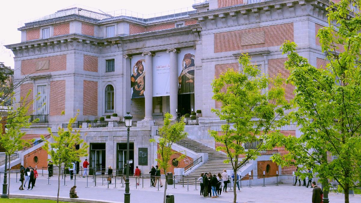 Entrada principal al Museo del Prado