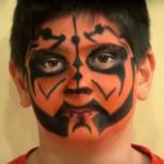 Cómo hacer un maquillaje de Darth Maul