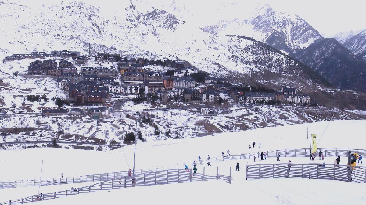 Pista de esquí de la Formigal