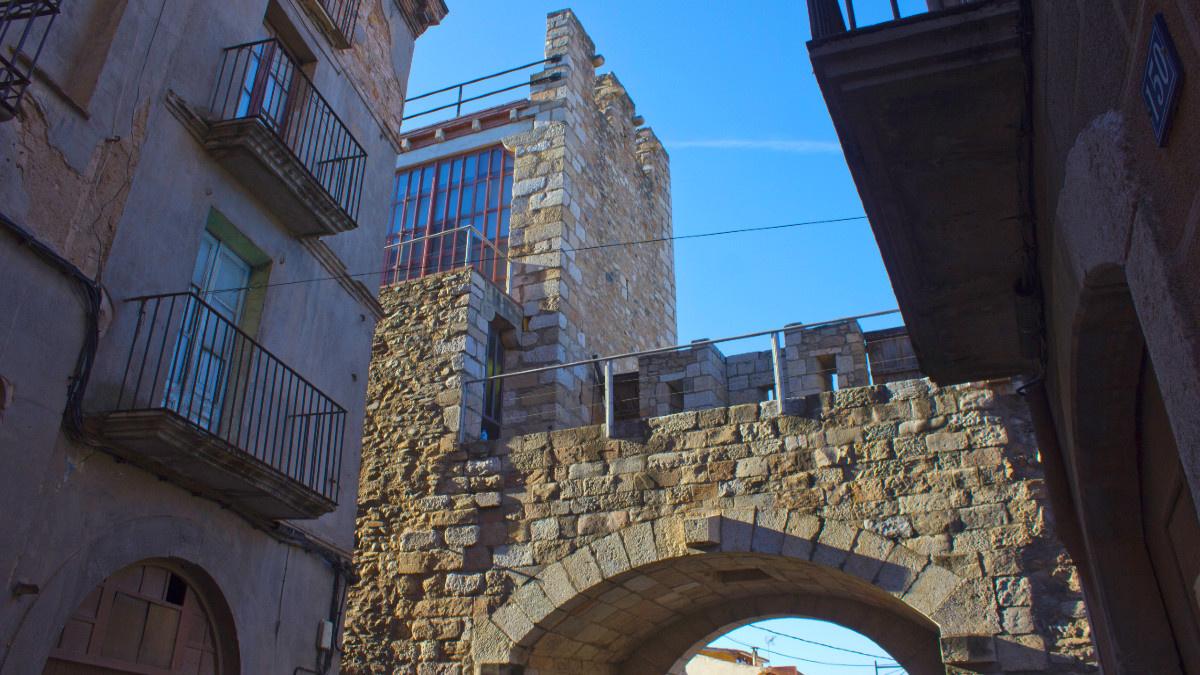 Descubrimos Montblanc, el lugar en el que Sant Jordi acabó con el dragón ;-)