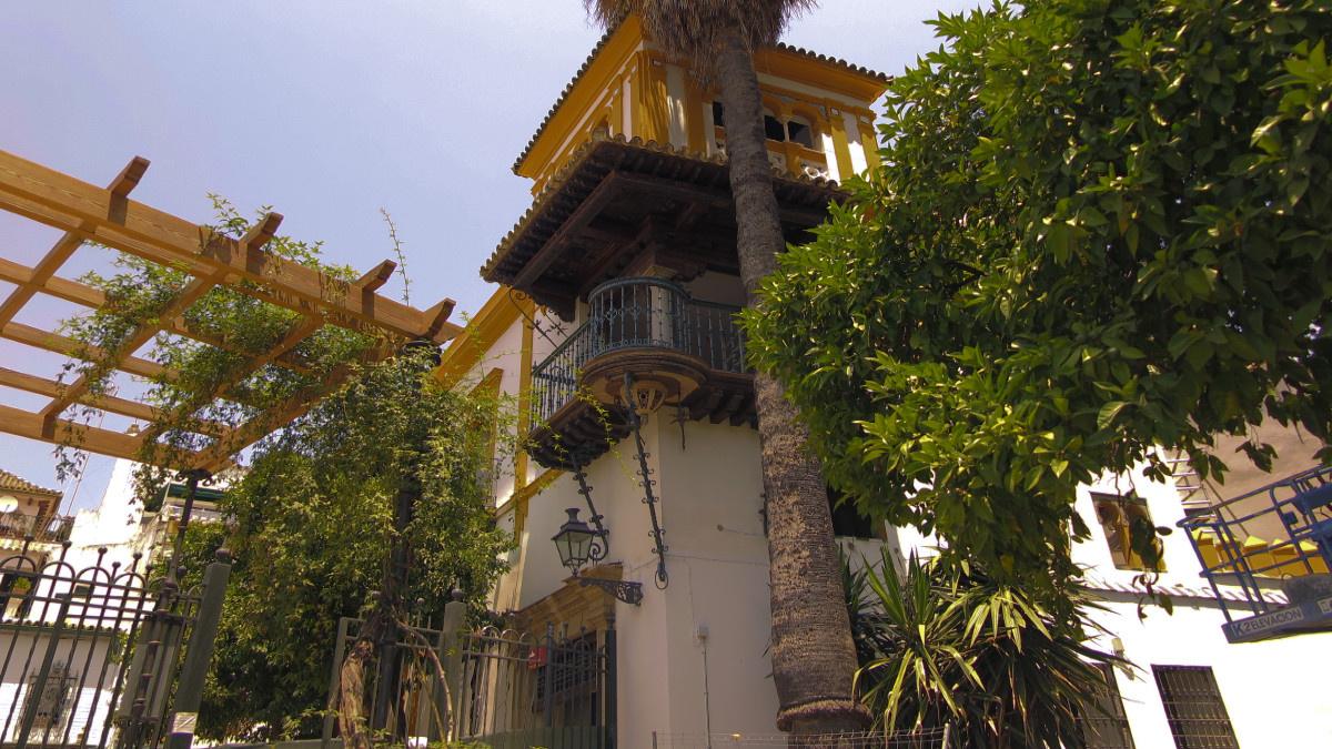 Edificio del Barrio de Santa Cruz de Sevilla