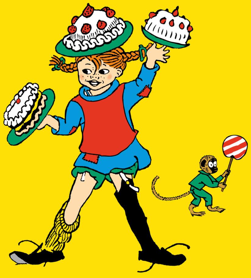 El personaje infantil Pippi Calzaslargas cumple 75 años