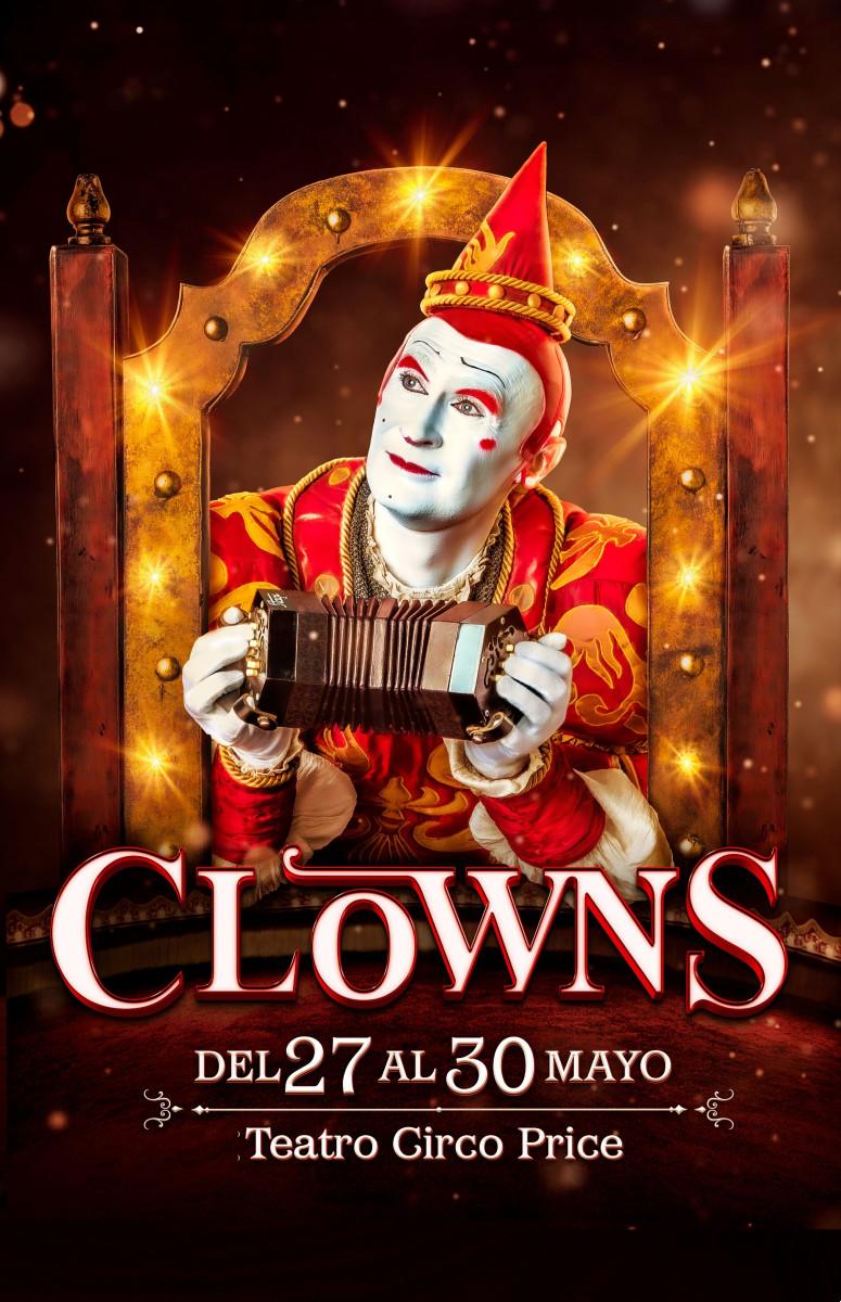 Cartel del espectáculo 'Clowns'