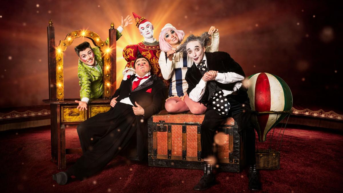 Clowns es el nuevo espectáculo para todos los públicos en el Circo Price, en Madrid