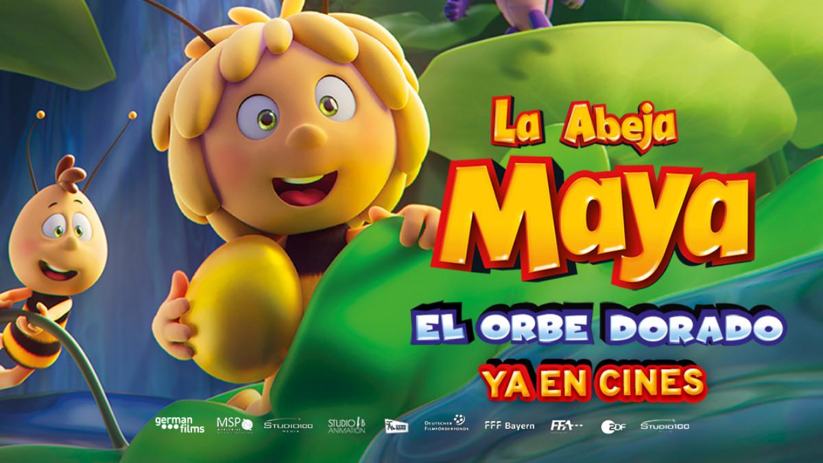 'La Abeja Maya y El Orbe Dorado' llega a los cines de toda españa esta primavera