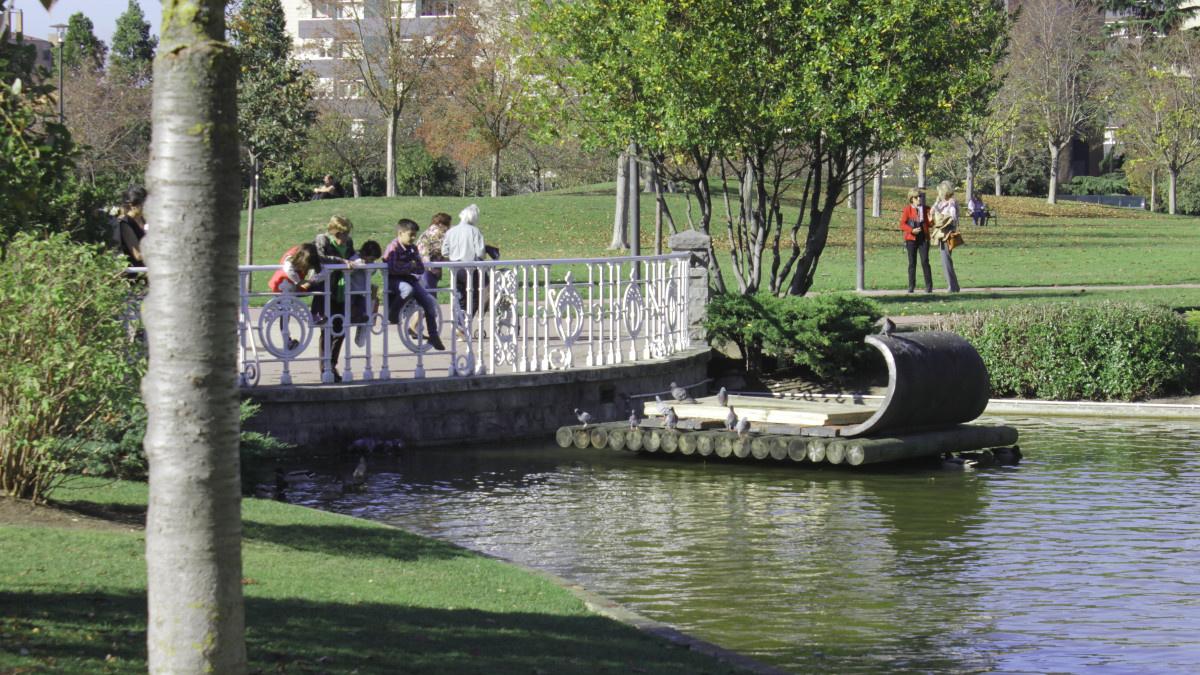 Parque Yamaguchi, un jardín japonés en Pamploa